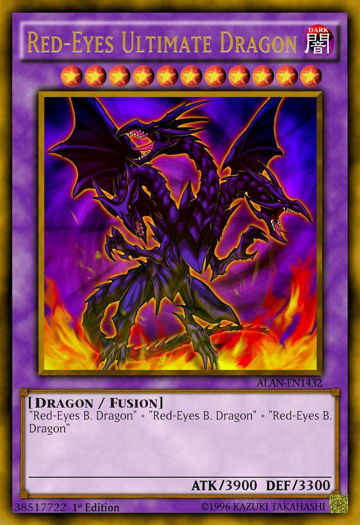 red eyes ultimate dragon re visit by chdmann on deviantart