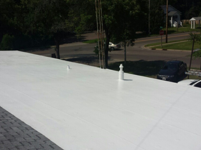 Best Silicone Spray Roof Rubber Roofing Material Flat Roof 400 x 300