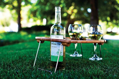Serving Tray | Apollo Toys and Gifts It's perfect for romantic picnics or the beach...anytime you need a sturdy table to hold your wine and food. Available at www.apollotoysandgifts.com for only $27.95