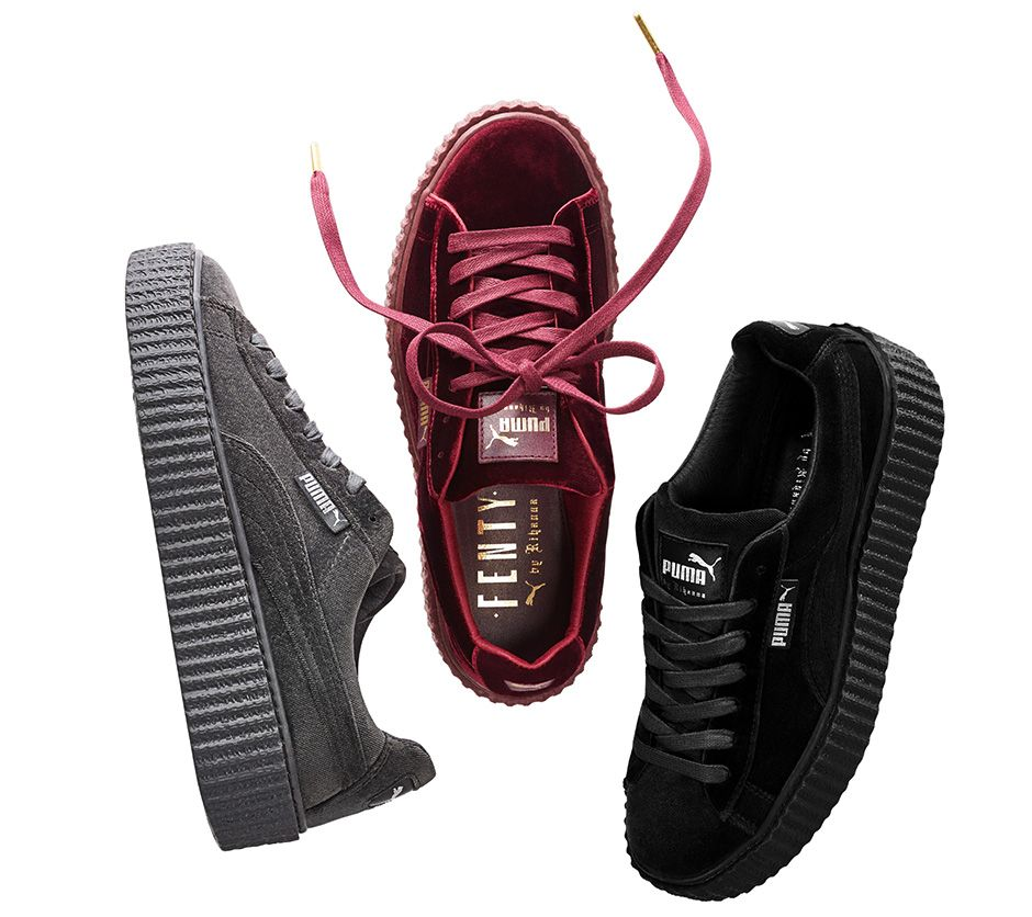 FENTY PUMA by Rihanna Velvet Creeper Collection
