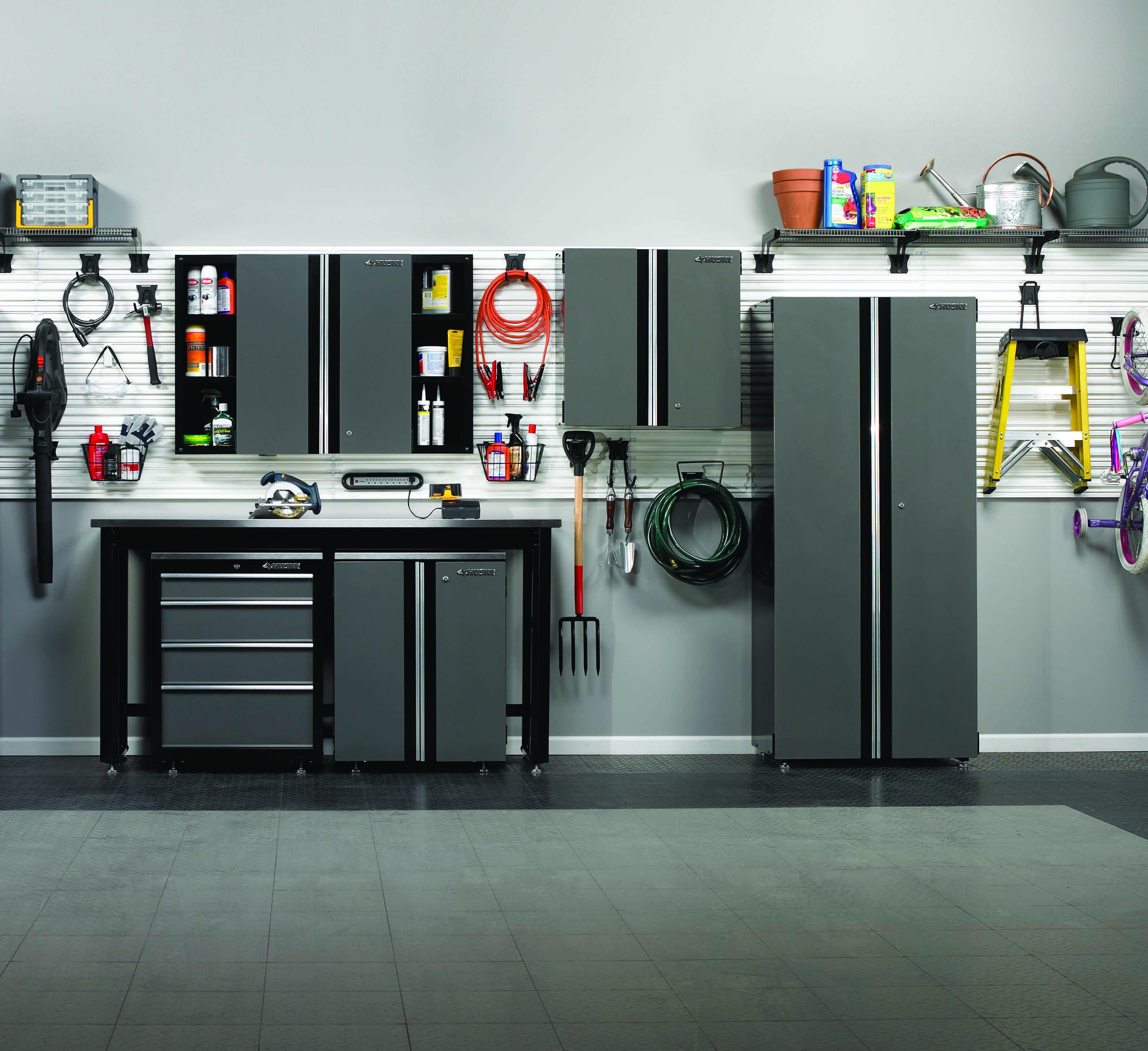 Dreaming Of An Organized Garage Husky Tool Storage Has You