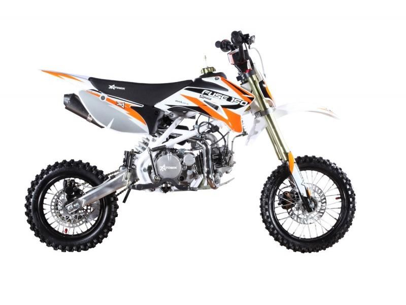 atomik 150cc orange fuse dirt bike dirt bikes dirt. Black Bedroom Furniture Sets. Home Design Ideas