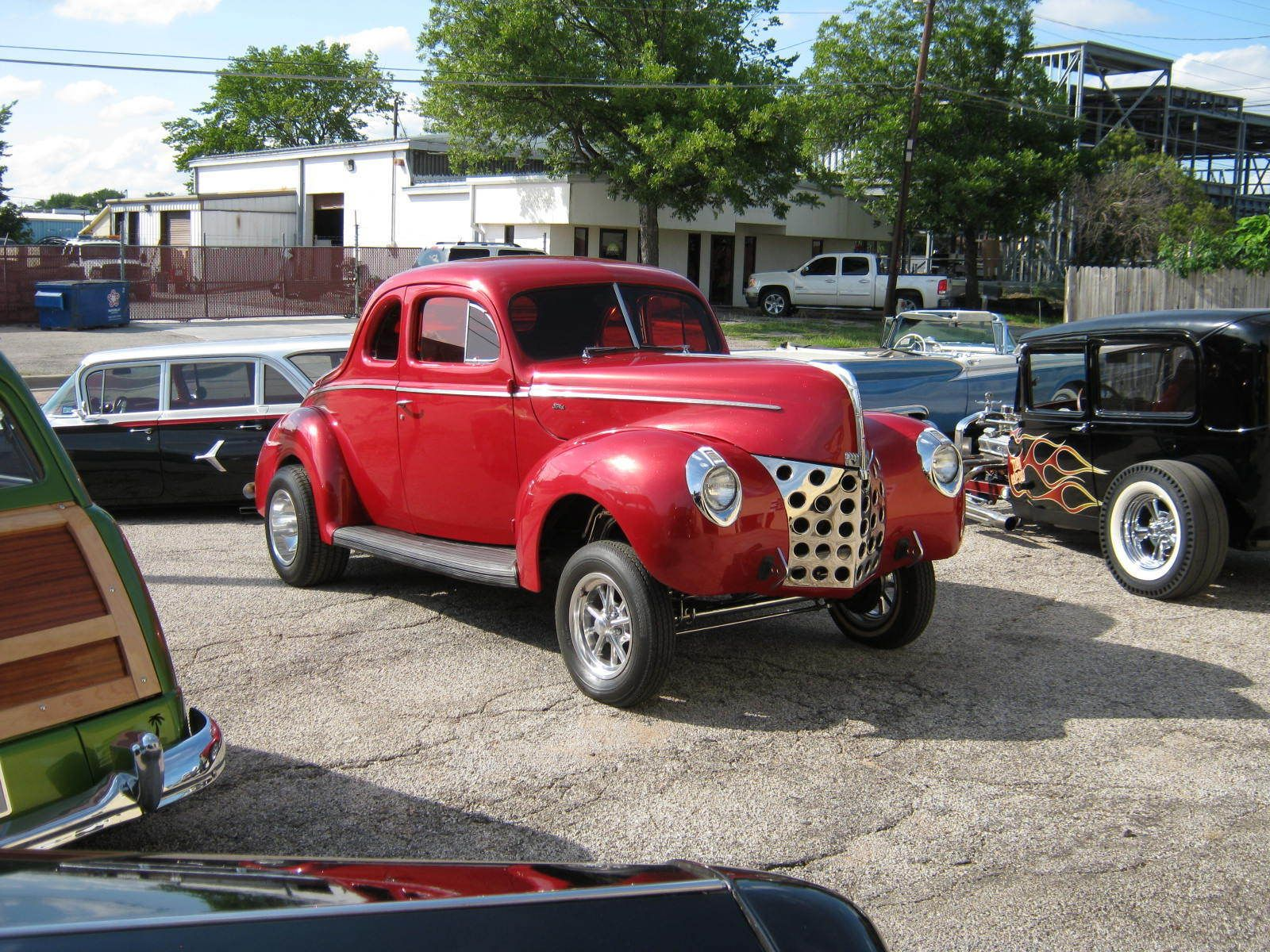 1940 Ford DELUXE COUPE HEMI GASSER!! STRAIGHT AXLE DISC