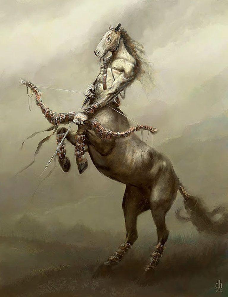 Los Signos Del Zodiaco Fueron Convertidos En Sus Respectivos Monstruos Terrorificos Cada Monstruo Tiene Su Signif Zodiac Art Fantasy Creatures Fantasy Monster