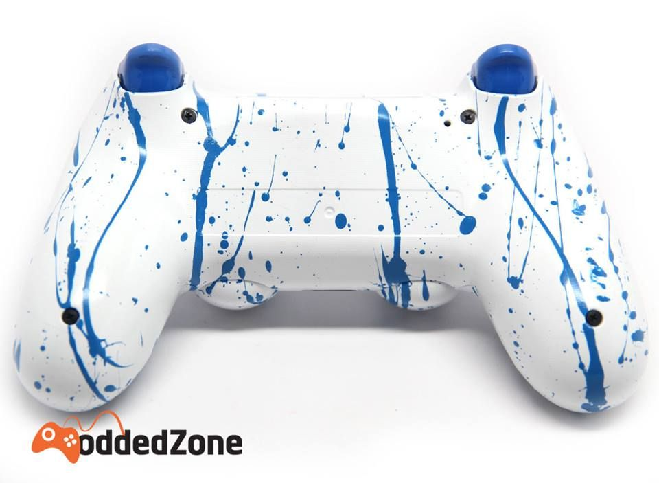 """NEW RELEASE! """"BLUE TOXIC"""" PS4 RAPID FIRE MODDED CONTROLLER"""