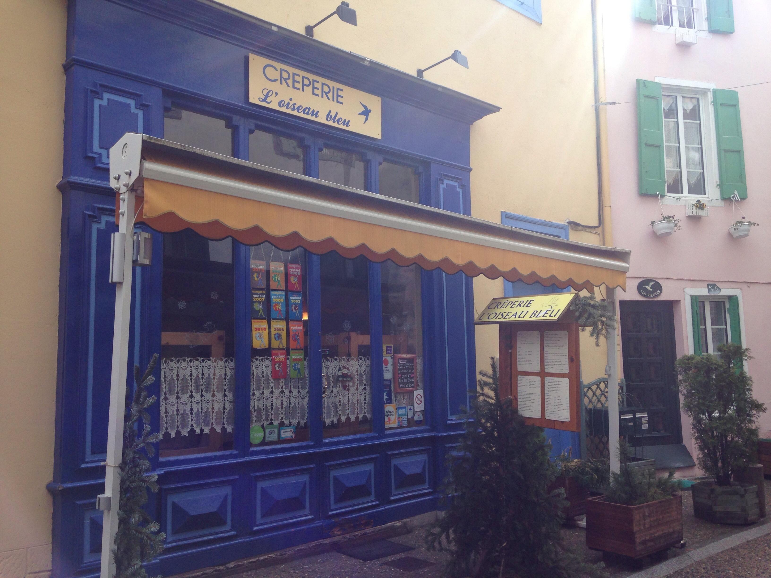 Restaurant crêperie L\'oiseau Bleu, Ax-les-Thermes - #ValléesAx ...