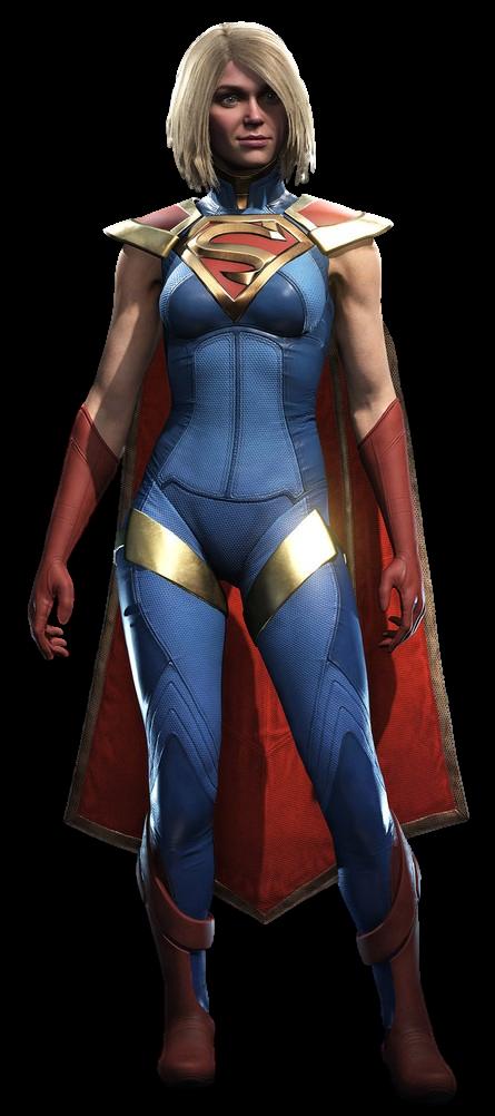 Injustice 2 S Supergirl Transparent Background By Camo Flauge Injustice 2 Supergirl Supergirl Comic Batman Injustice