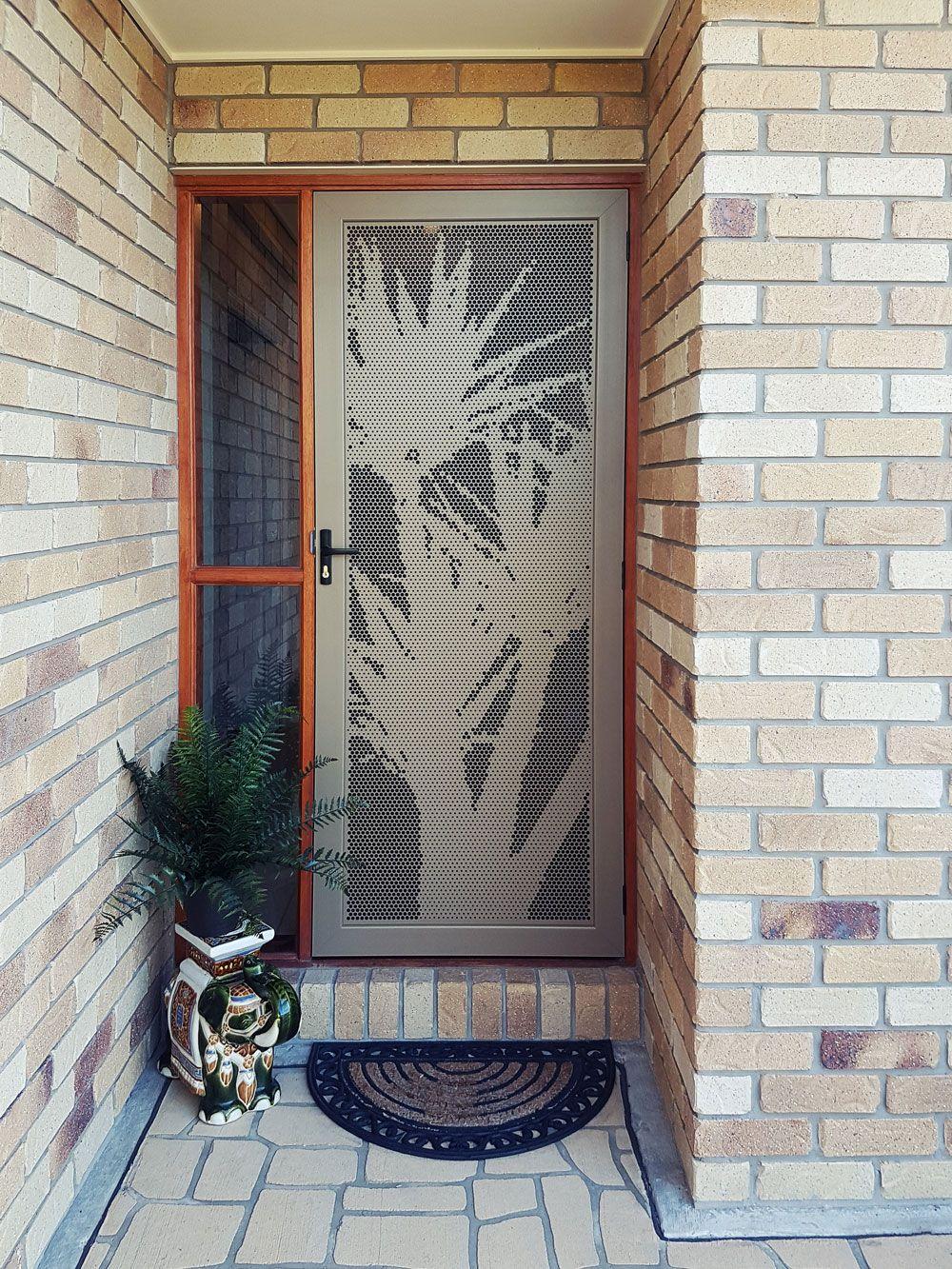 Decorative Security Screen Doors decorative security screen door | laser cut doors | pinterest