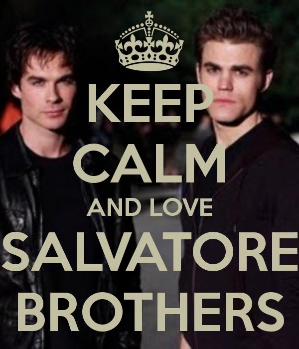 Vampire Diaries - The Salvatore brothers