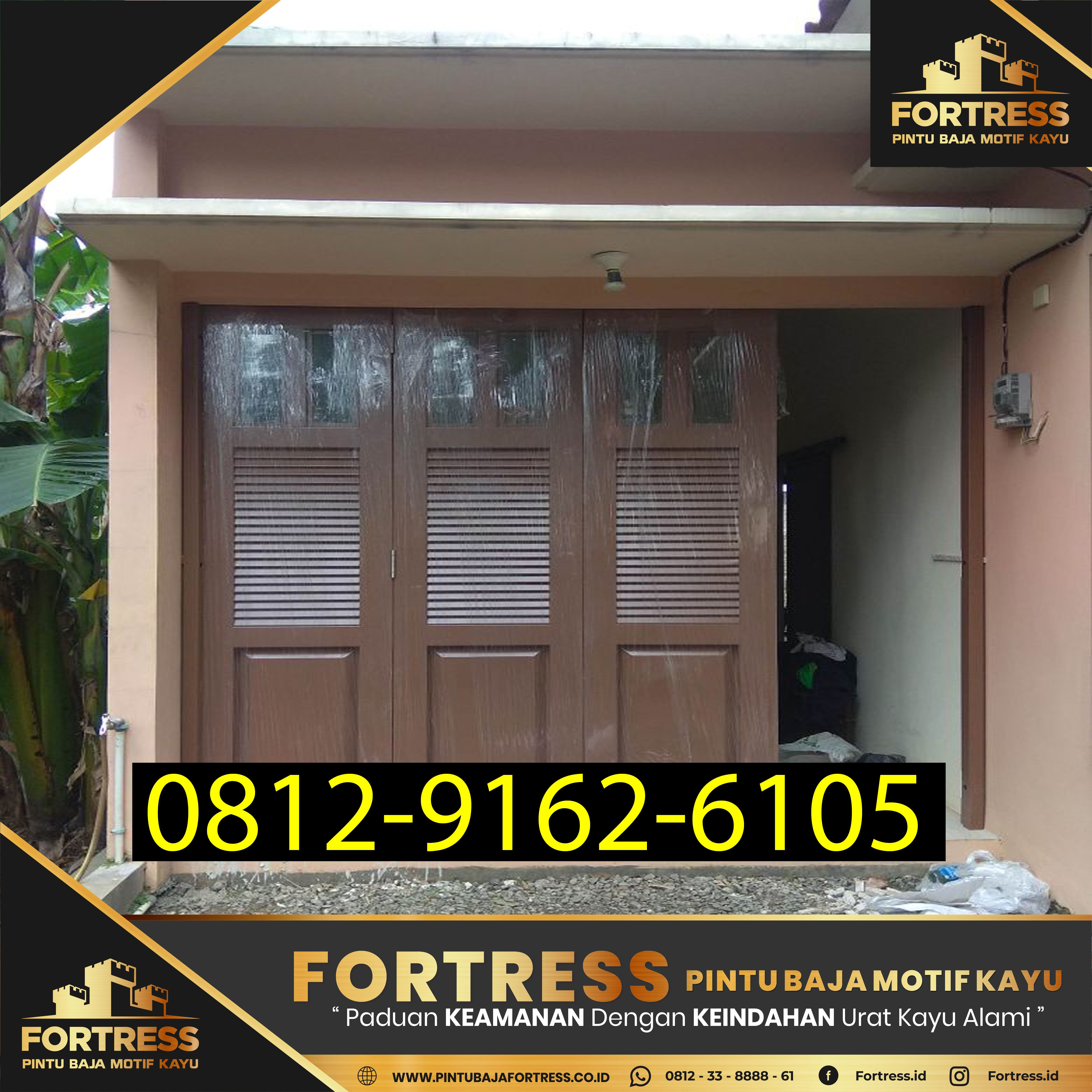 Fortress 0812 9162 6105 Desain Pintu Garasi Mobil Depok Pintu Garasi Pintu Kemewahan