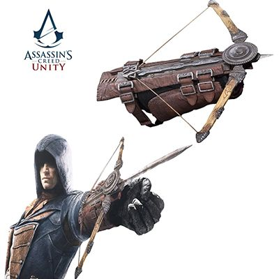 New Assassins Creed Unity Jacobs Cosplay Phantom Blade Crossbow