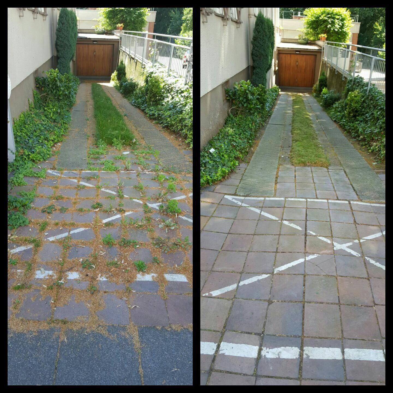 Gartenfliesen Und Pflastersteine Reinigen Freischneider - Garten fliesen reinigen
