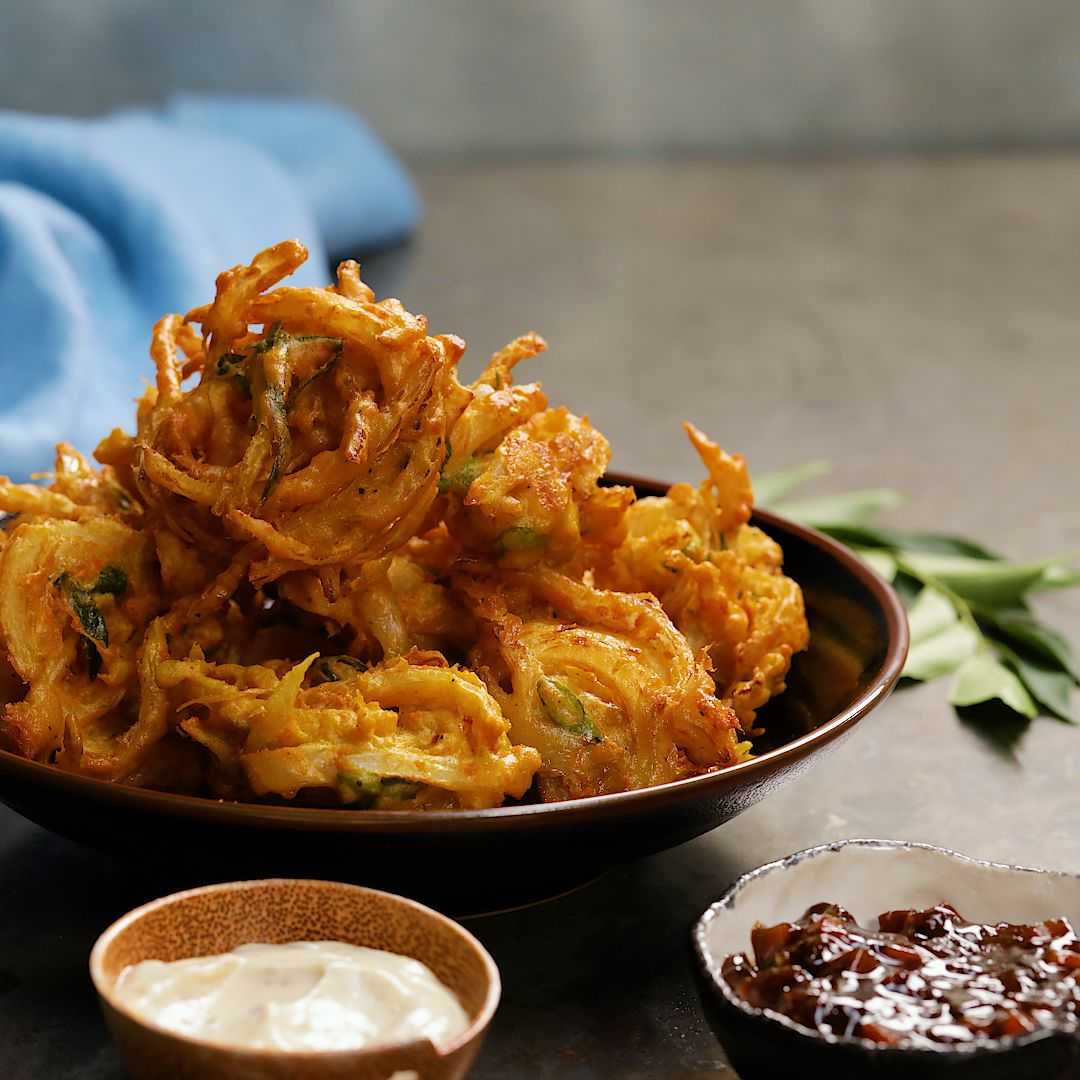 The only cheese and onion bhaji recipe you'll ever need!