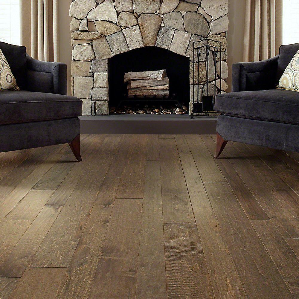 Shaw floors bennington random width engineered maple hardwood