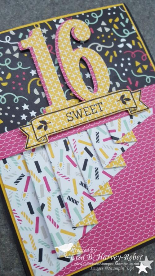 Sweet 16 Card Making Ideas Part - 40: Sweet 16 By GulfcoastStamper · Handmade Birthday CardsBirthday ...