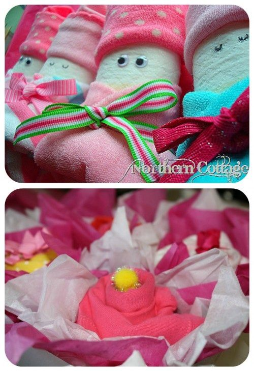 Baby Gift Ideas Homemade : Love this over baby shower homemade gifts via tip