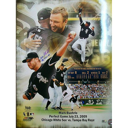 Chicago White Sox Mark Buehrle Autographed with Inscription 16x20 Collage - MLB.com Shop