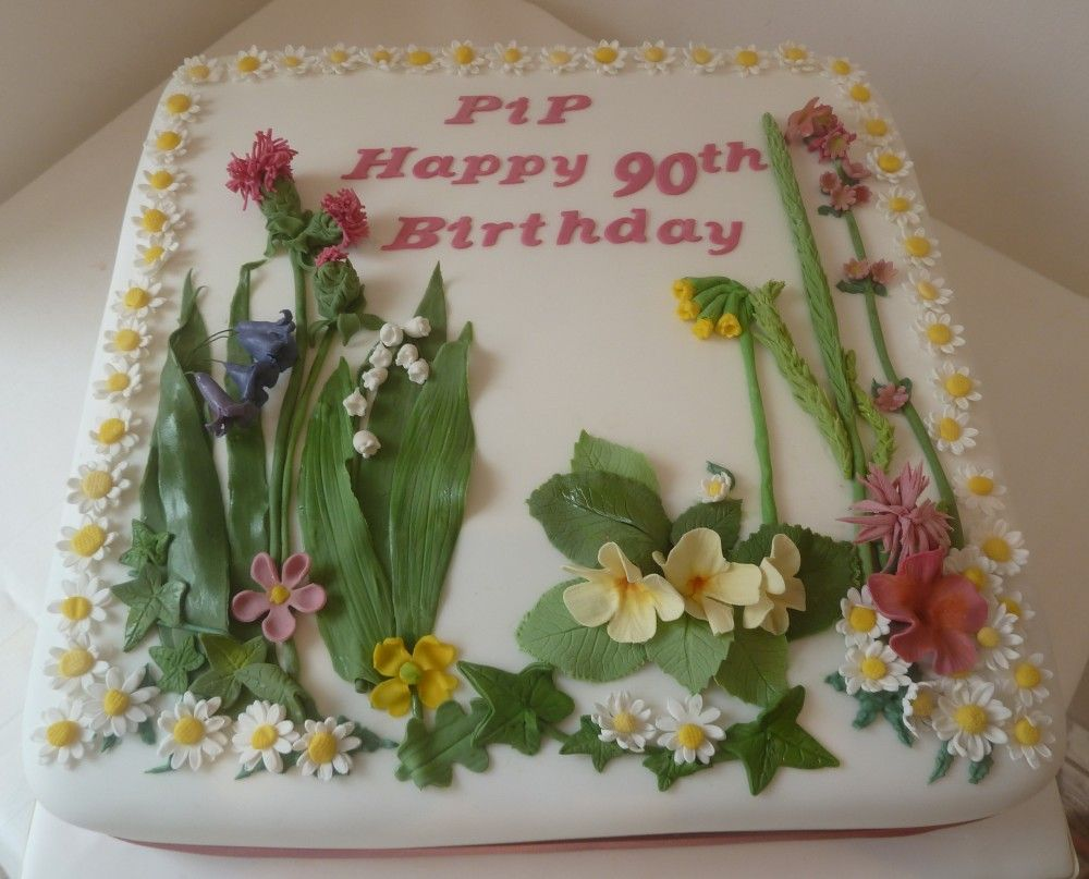 garden cake ideas photo album amazows - Garden Design Birthday Cake