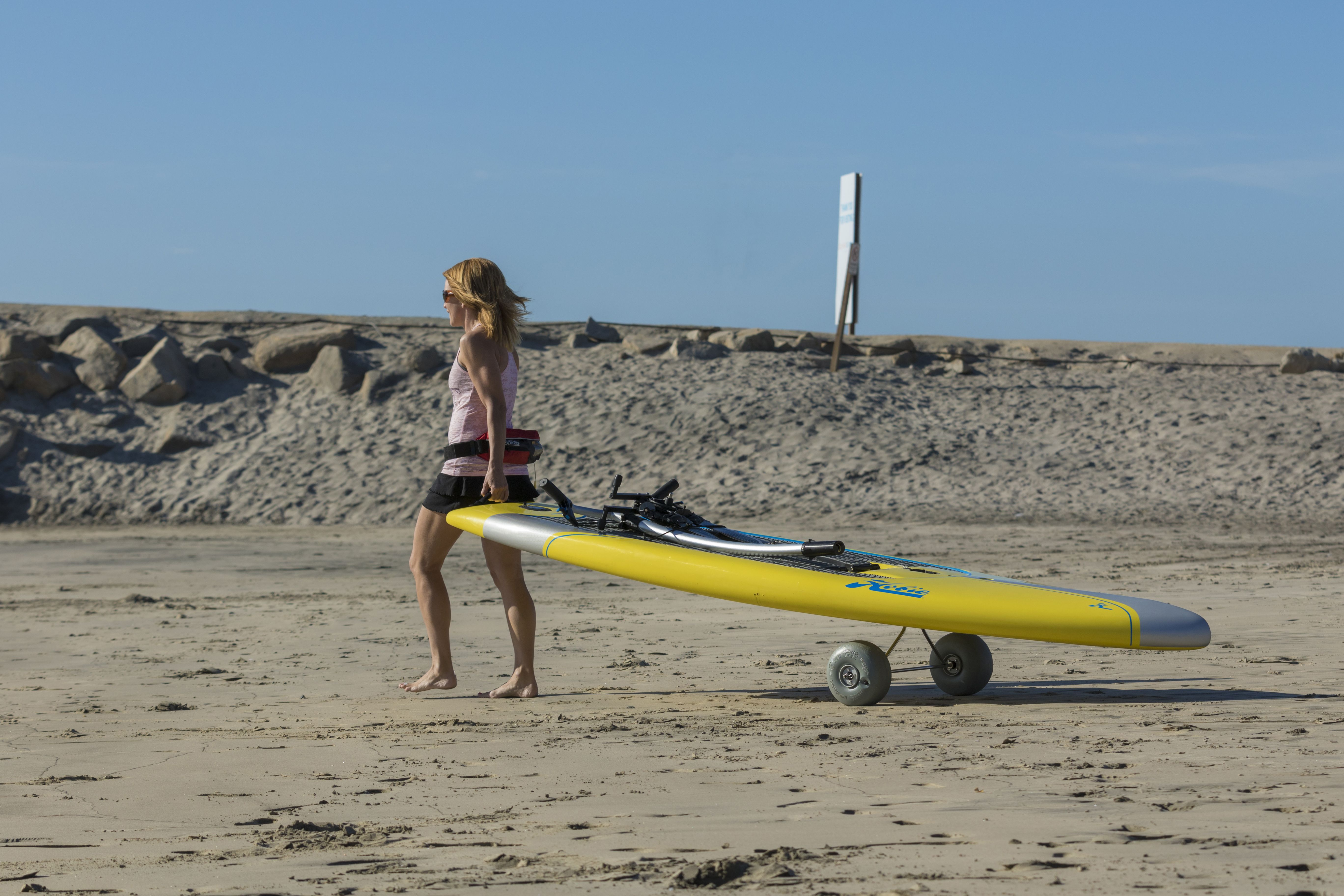 So Easy To Transport Hobie S Eclipse Sup Surfer Workout Standup Paddle Indoor Workout