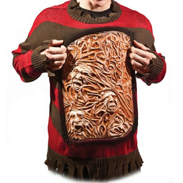 freddy kruegers sweater of souls - Freddy Krueger Halloween Decorations