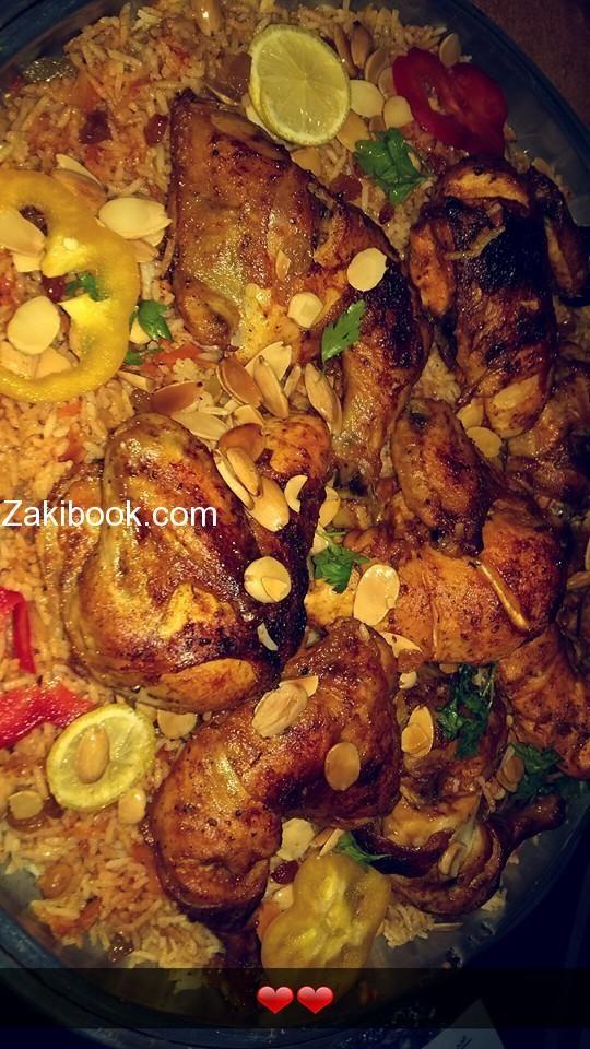 كبسة الدجاج مع أسرار الكبسة السعودية على أصولها زاكي Beef Dishes Food Decoration Food