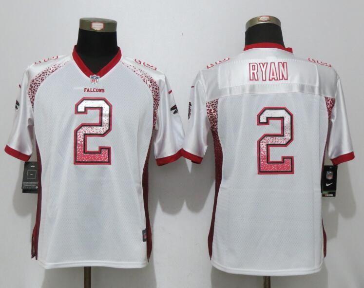 Women New Nike Atlanta Falcons 2 Ryan Drift Fashion White Elite Jerseys 05adab2e0