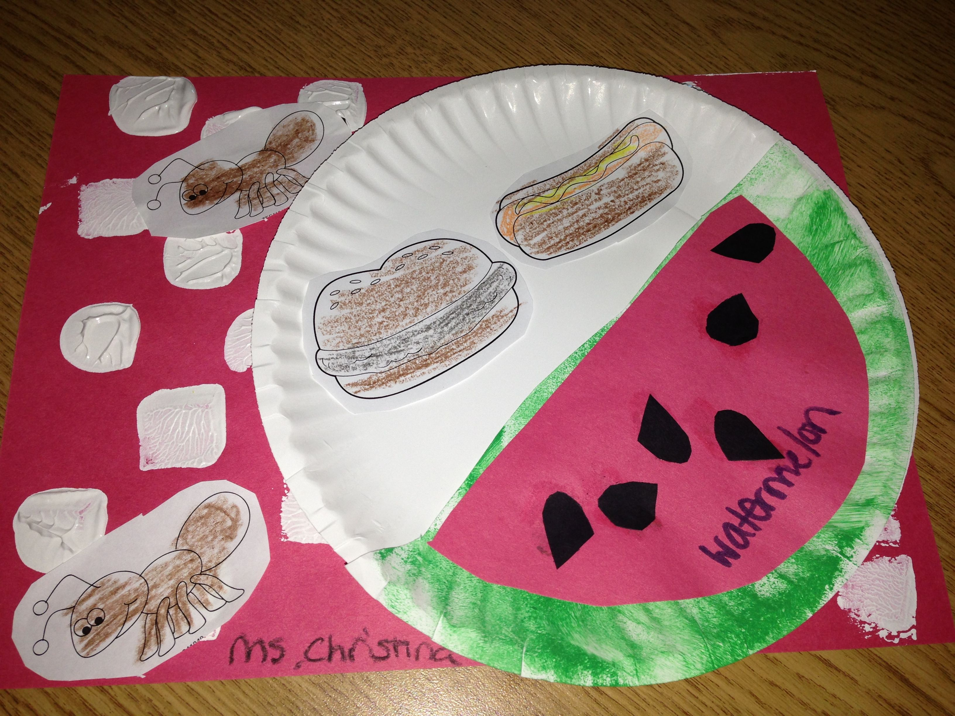Picnic Theme Craft