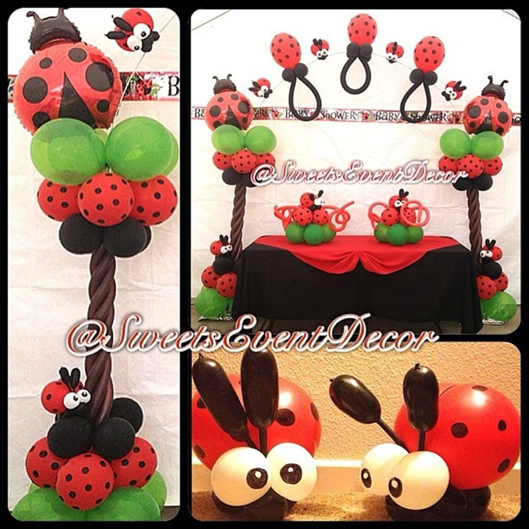 lady bug themed baby shower by sweets event decor baby shower decorations event decor