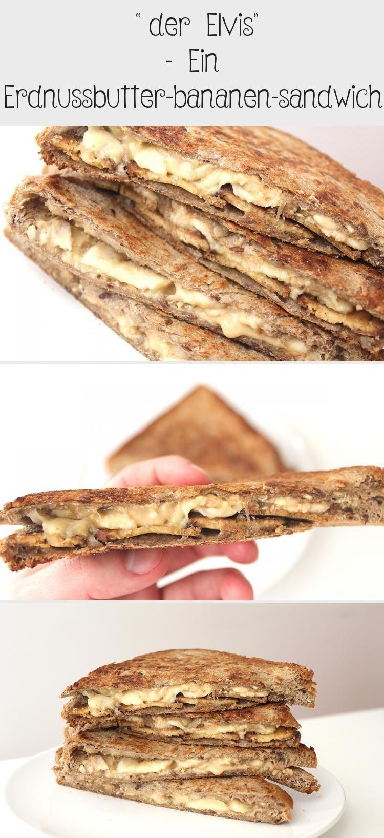 """Photo of """"der Elvis"""" – Ein Erdnussbutter-bananen-sandwich – Sandwich"""