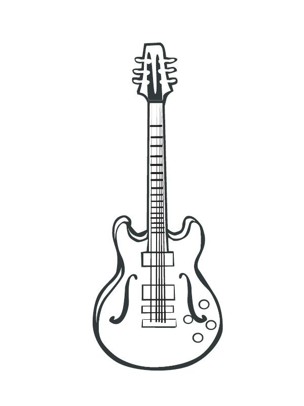 Musical Instruments Coloring Pages For Kids Musical Instruments Coloring Pages 33 Coloring P Musical Instruments Drawing Musical Instruments Coloring Pages