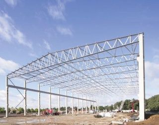 Warehouse 12 Meter Span Truss Design Google Search On