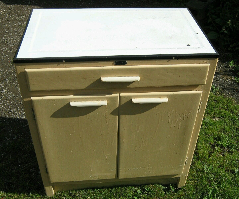 vintage 40s/50s hygena kitchen cabinet. kitchenette or larder unit