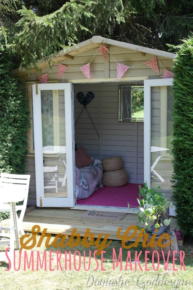 Do It Yourself Home Design: Shabby Chic Girls Clubhouse Makeover