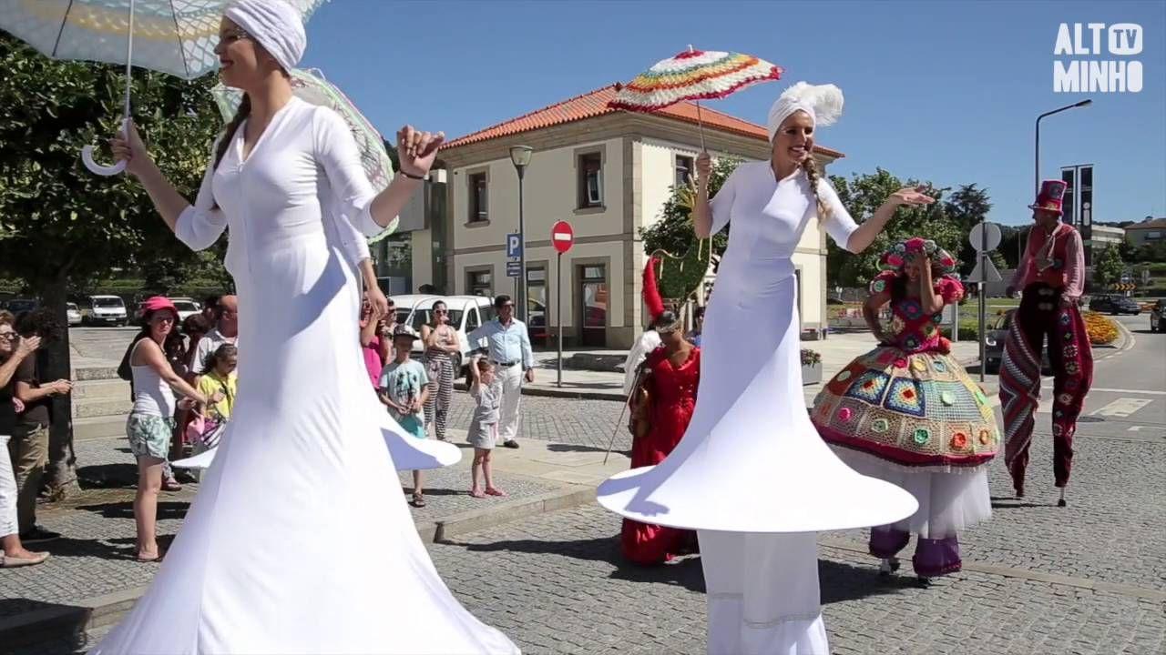 O Crochet Sai à Rua Em Vila Nova De Cerveira Altominho Tv Vila Nova Vila Nova
