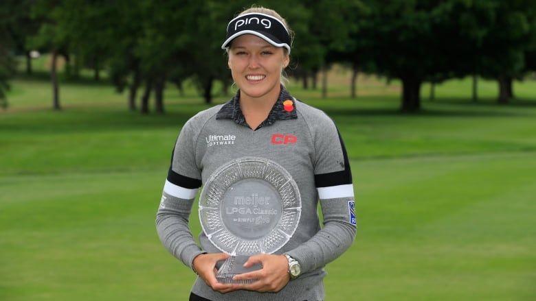 Brooke henderson winningest pro golfer in canadian