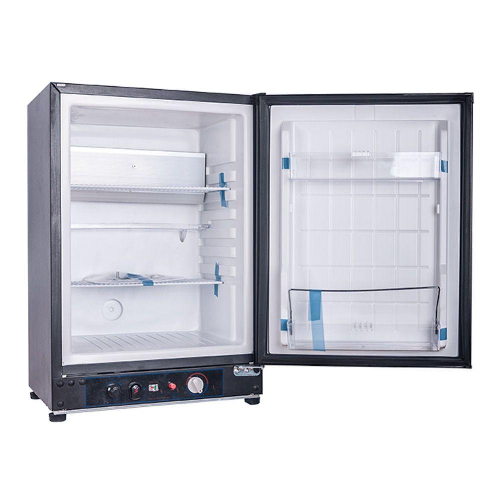 Smad 220v 12v Lp Gas Mini Refrigerator 0 2lb 24h Gas Consumption Portable Electric Propane Bar Cooler Low Noise Hotel Gas Refrigerators Propane Camping Fridge