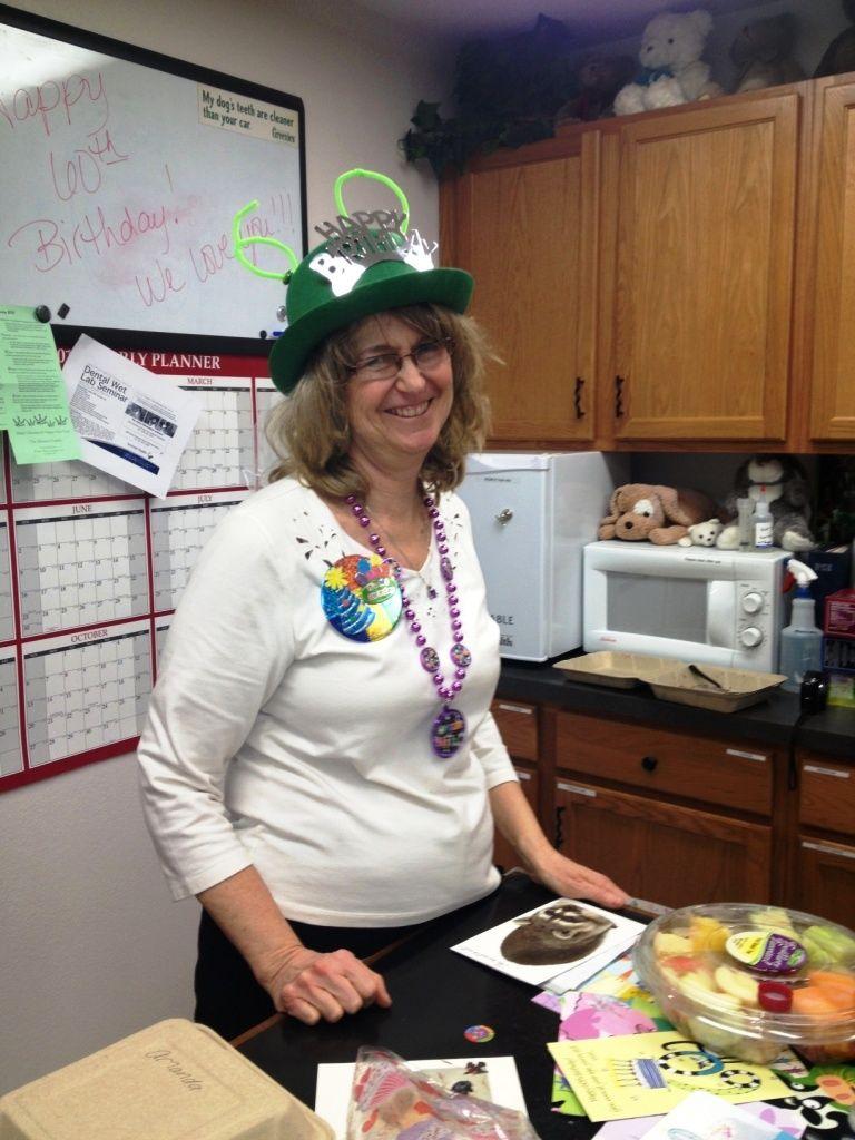 Dr. Everett enjoying her 60th birthday celebration #Sheree Everett #Everett Veterinary #Klamath Falls