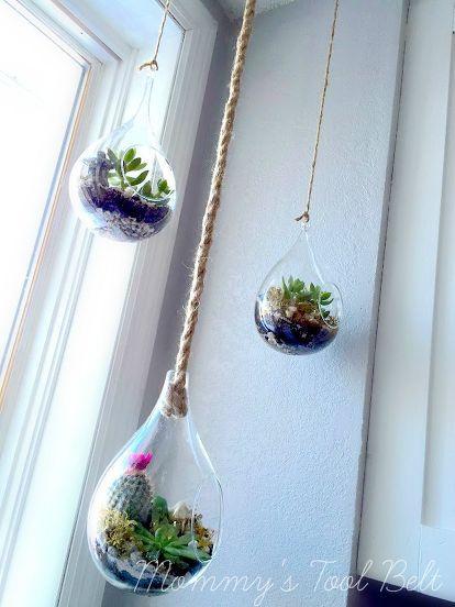 Diy Hanging Globe And Geo Terrariums Apt Ideas Philly