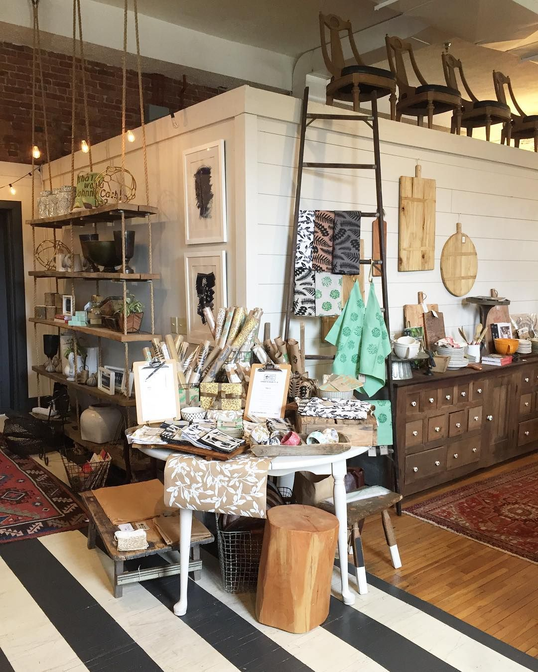 Our Bks Set Up At Reclaimed Inspired Goods In Johnson City Tn For