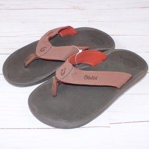 NEW Olukai Ohana Flip Flop Sandals Size 8