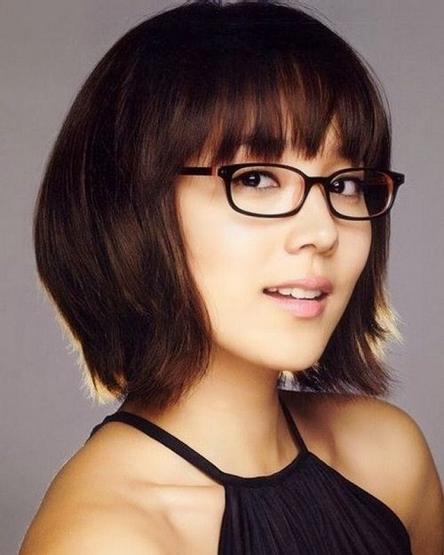 Short Hairstyles For Girls With Glasses Images Hairstyles With Glasses Womens Hairstyles Headband Hairstyles