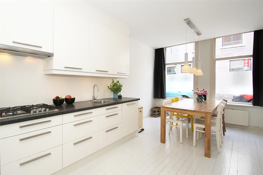 Keuken Witjes Achterwand : Achterwand keuken geen tegels en kleur van keuken huis te koop