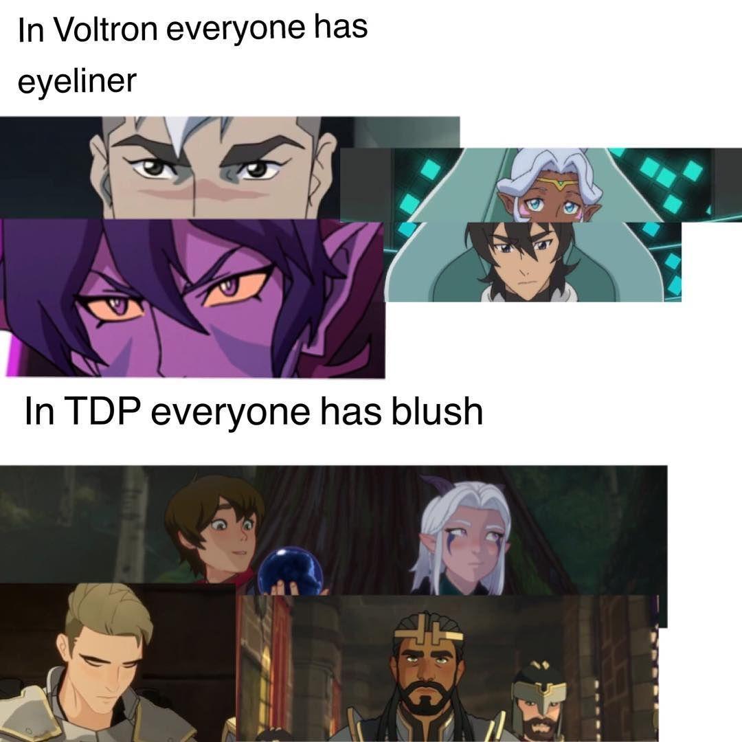 Fact Dragonprince Thedragonprince Voltron Shiro