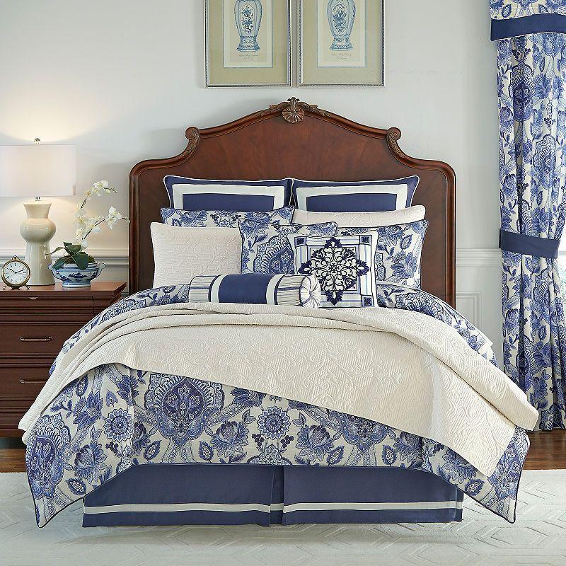 Croscill Classics Leland 4 Pc Comforter Set With Images Comforter Sets King Comforter Sets Beige Bed Linen