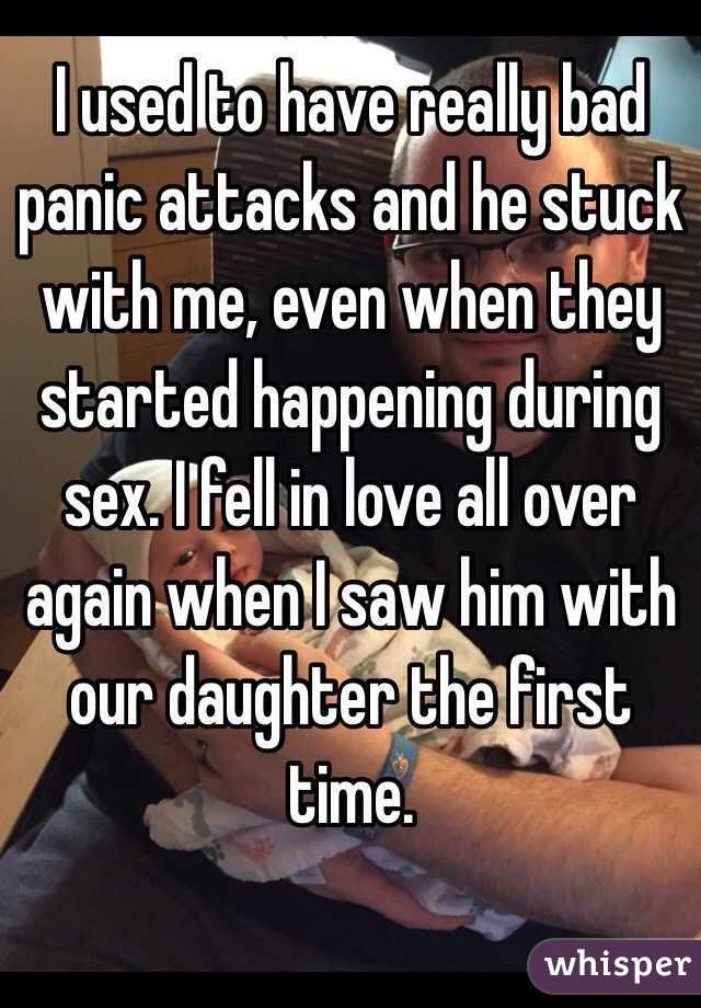 Panic attacks during sex