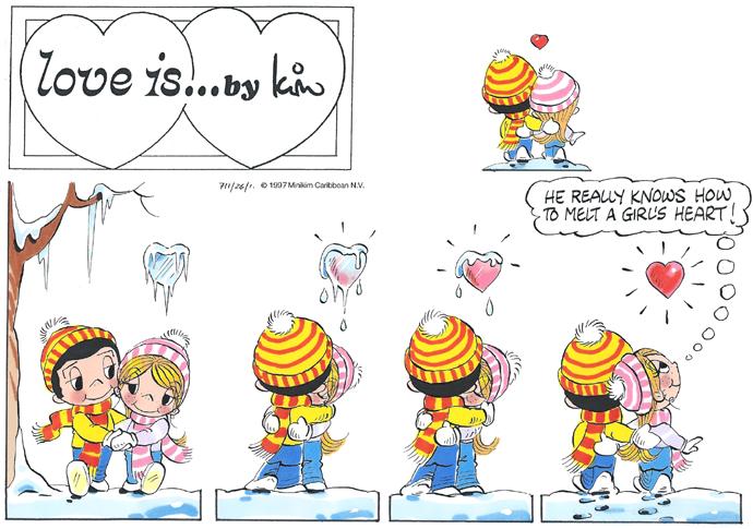 Love is...Sunday 17 January 2016 | Bill Asprey Cartoons & Comic Strips