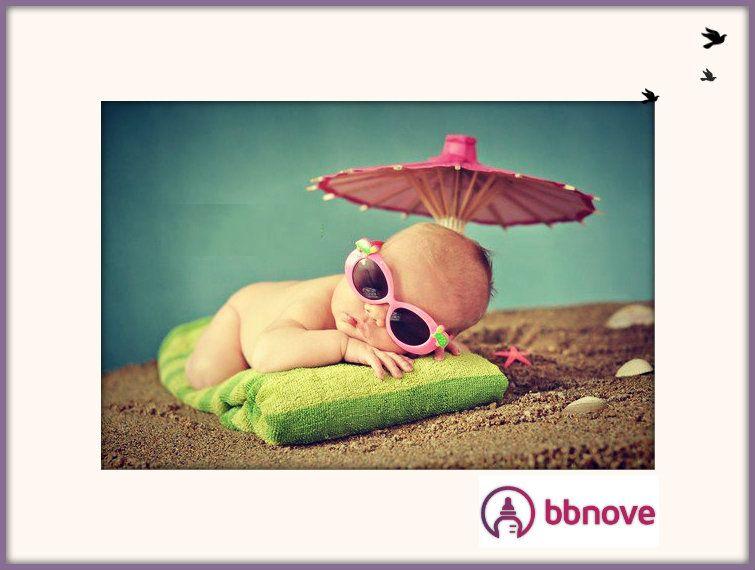 #bébé #baby #enfant #summer #été #lunettes #glasses #plage #kid #children #sun #bbnove