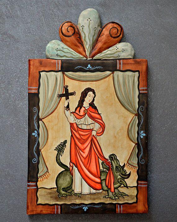 saint margaret of antioch santa margarita by luceroartanddesign