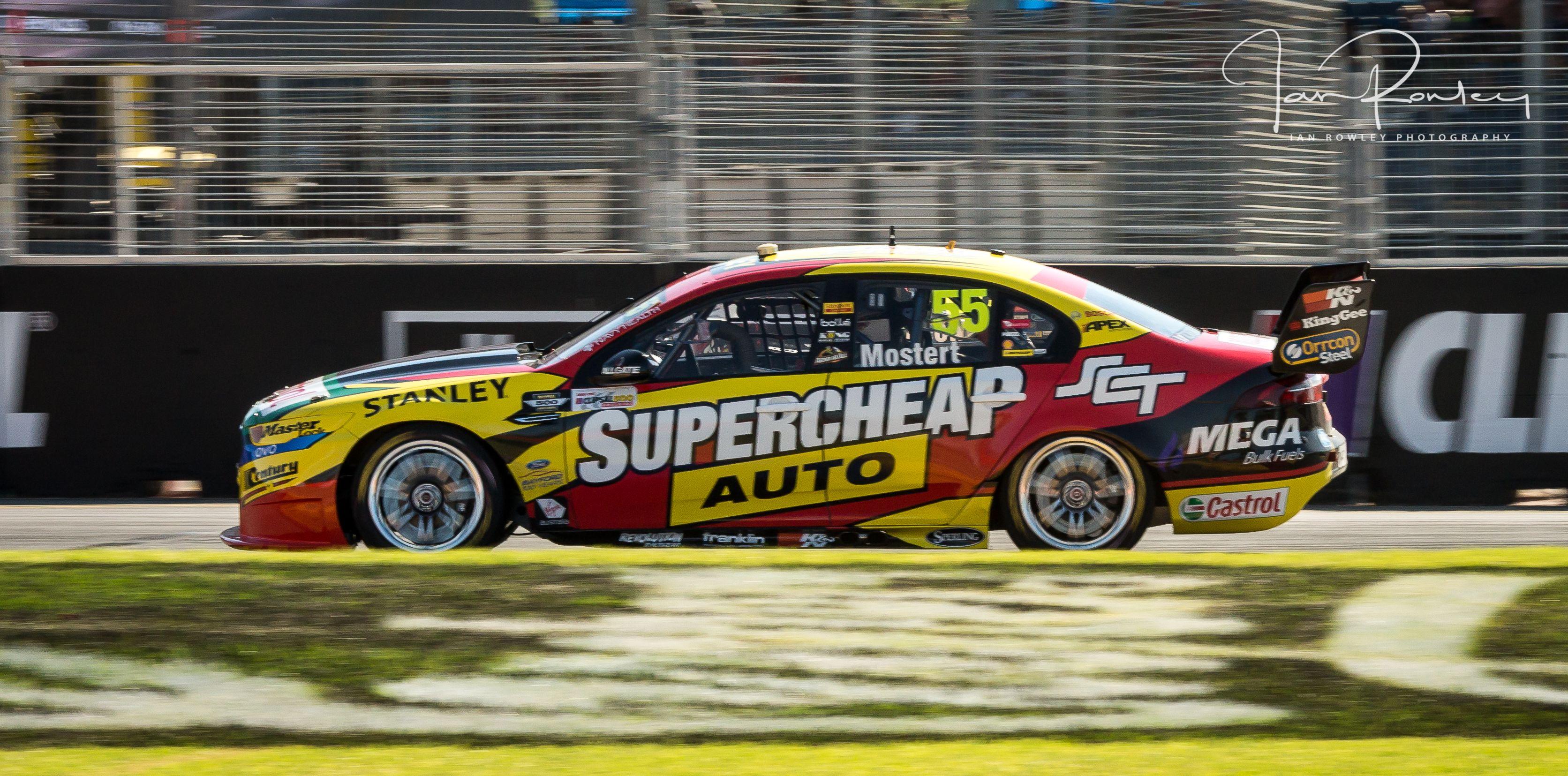 Chaz Mostert Supercheap Auto Racing Clipsal 500 2017 Australian V8 Supercars V8 Supercars Racing