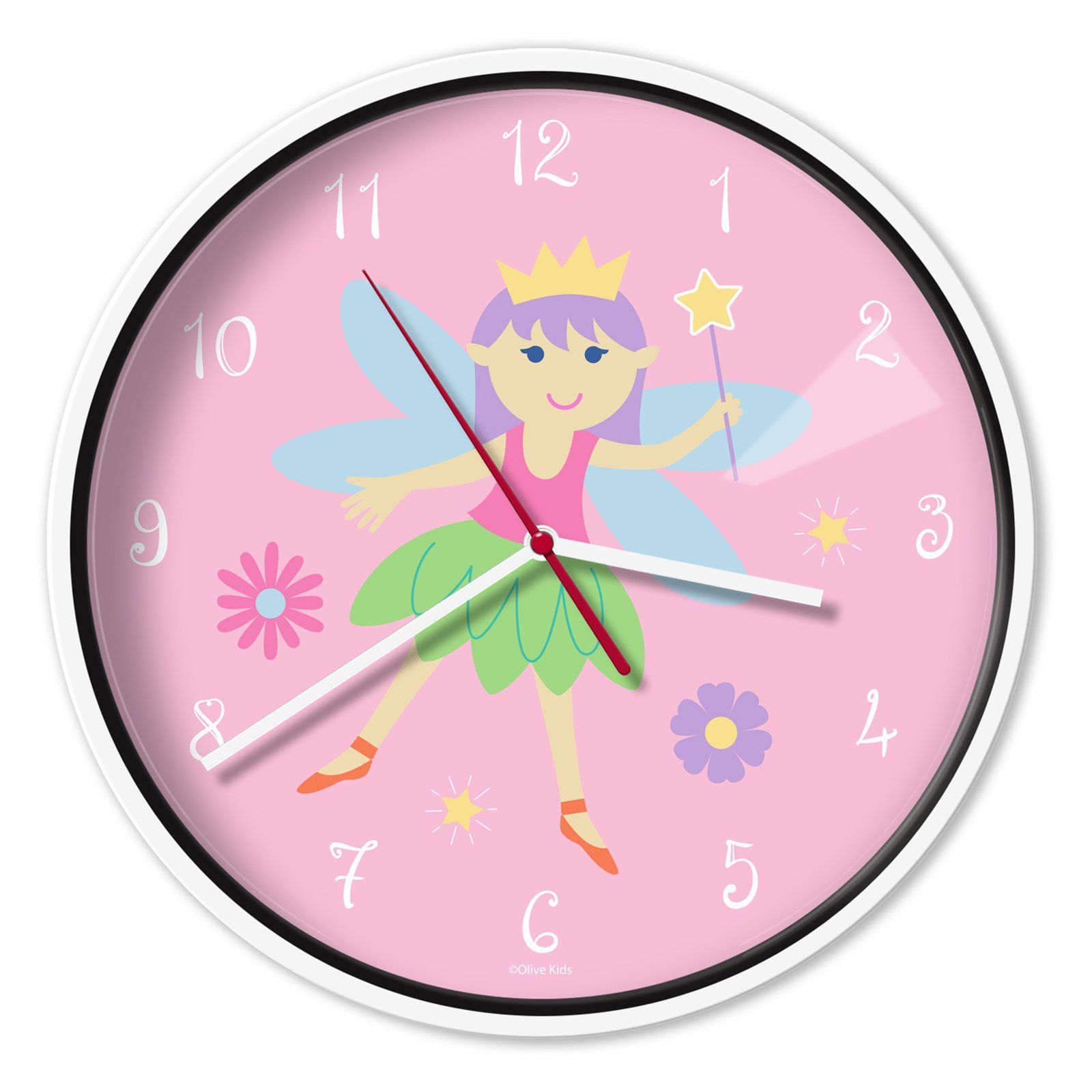 12 In Kids Wall Clock By Olive Kids 623417 Products Pinterest